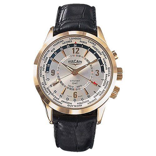 Часы Vulcain Aviator GMT 100508.030L, фото