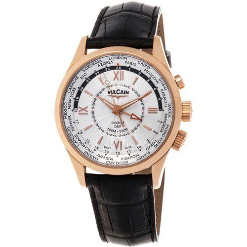 Часы Vulcain Aviator GMT 100508.145L, фото
