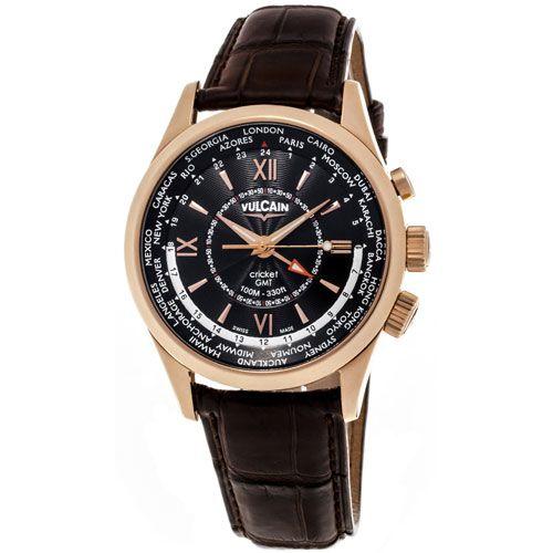 Часы Vulcain Aviator GMT 100508.146L, фото