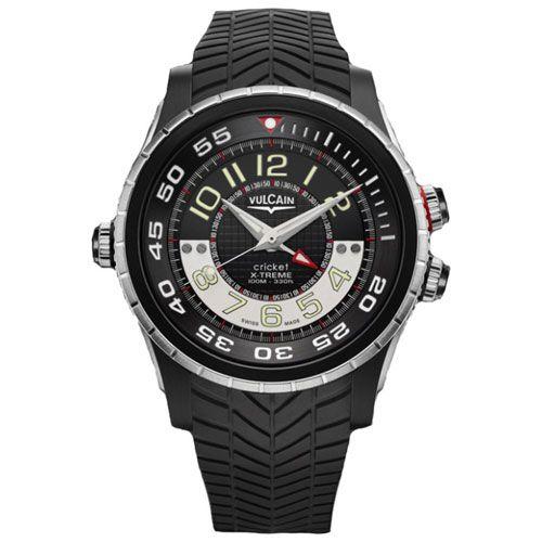 Часы Vulcain Diver X-Treme Titanium & Steel 101924.160RF-BK, фото