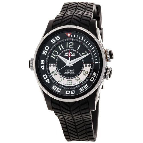 Часы Vulcain GMT X-Treme Titanium & Steel 161925.165RF-BK, фото