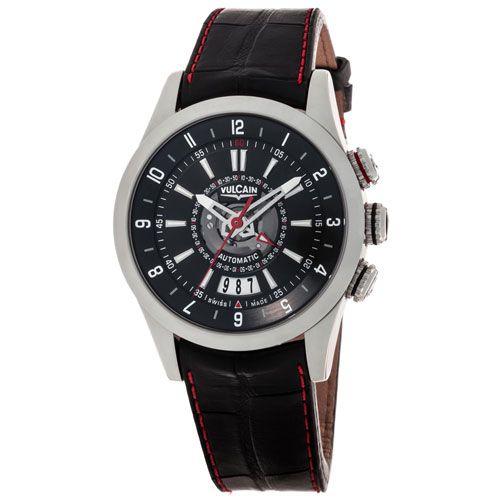 Часы Vulcain Revolution Dual Time Automatic 210130.196LF-BKCR 210130.196LF-BKCR, фото