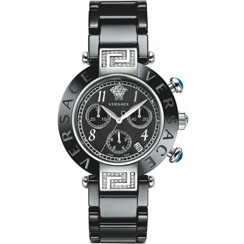 Часы Versace Reve Ceramic Chrono Vr95ccs91d008sc09 на керамическом браслете, фото