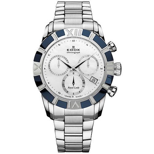 Часы Edox Royal Lady Chronolady 10406 357B NAIN, фото