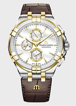 Часы Maurice Lacroix Aikon Chronograph AI1018-PVY11-132-1, фото