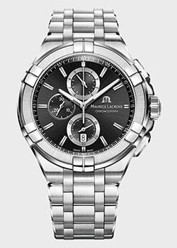 Часы Maurice Lacroix Aikon Chronograph AI1018-SS002-330-1, фото