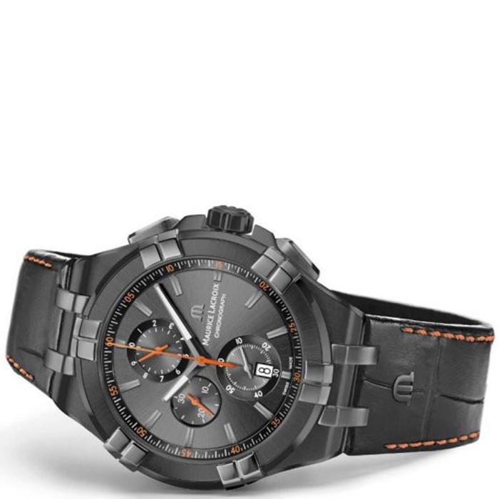 Часы Maurice Lacroix Aikon Chronograph AI1018-PVB01-334-1