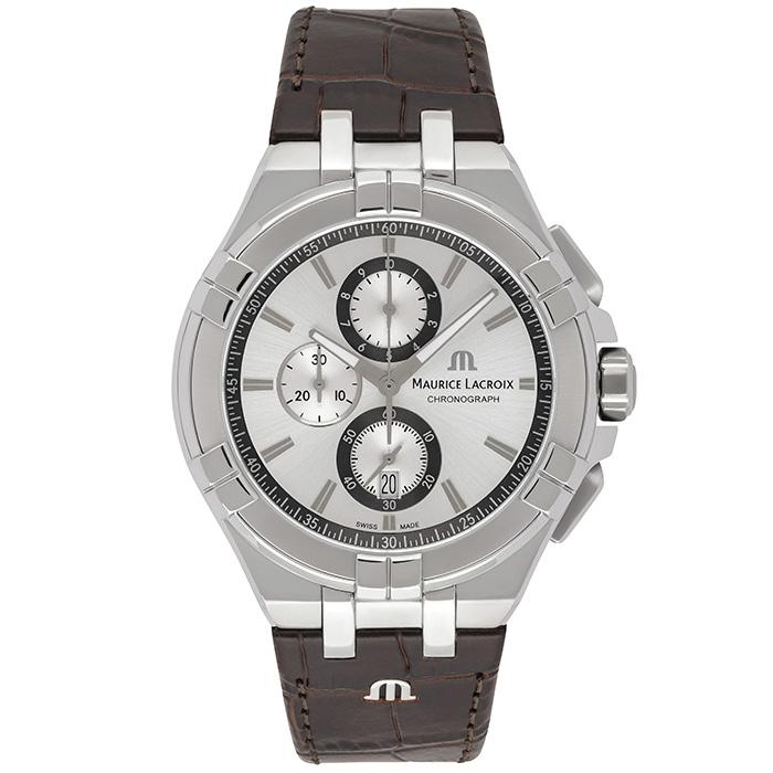 Часы Maurice Lacroix Aikon Chronograph AI1018-SS001-130-1