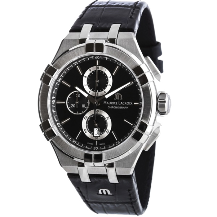 Часы Maurice Lacroix Aikon Chronograph AI1018-SS001-330-1