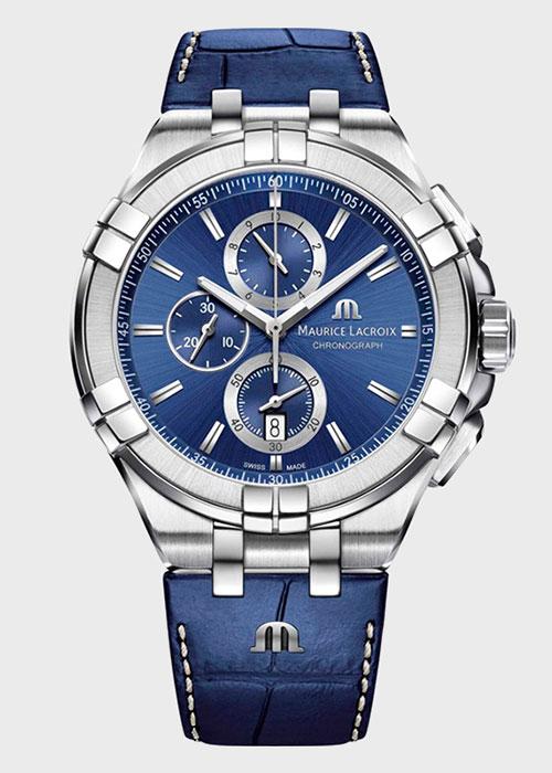 Часы Maurice Lacroix Aikon Chronograph AI1018-SS001-430-1