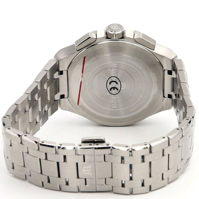 Часы Maurice Lacroix Aikon Chronograph AI1018-SS002-130-1