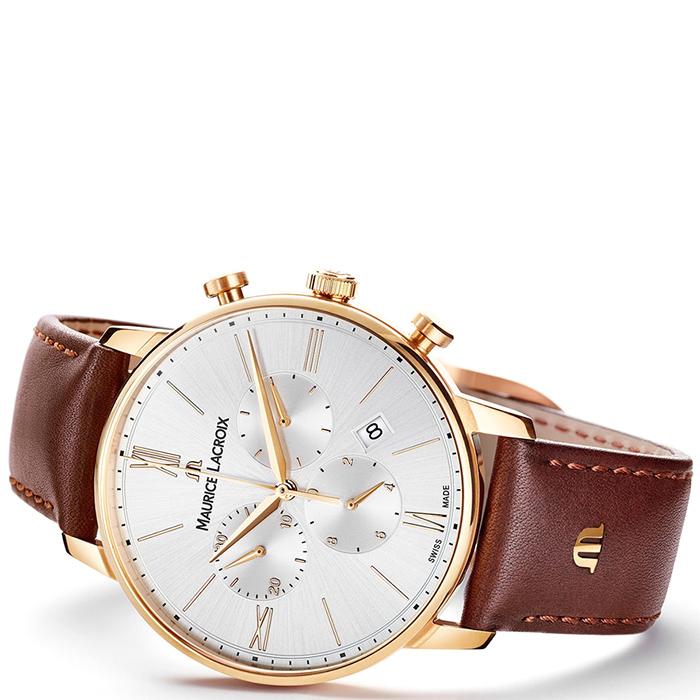 Часы Maurice Lacroix Eliros Chronograph EL1098-PVP01-111-1