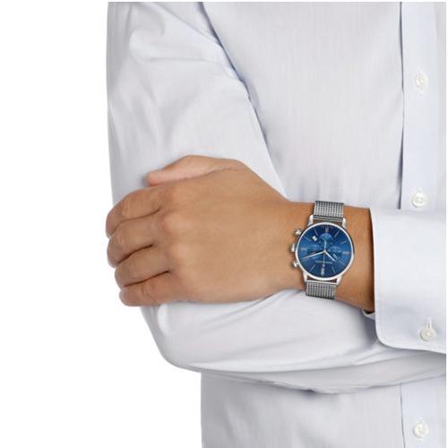 Часы Maurice Lacroix Eliros Chronograph EL1098-SS002-410-1