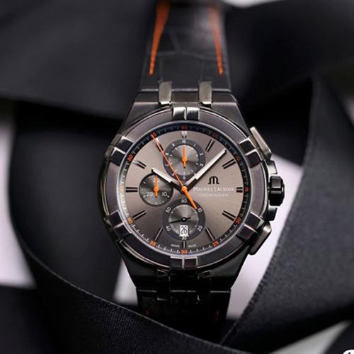 Часы Maurice Lacroix Aikon Chronograph AI1018-PVB01-334-1, фото