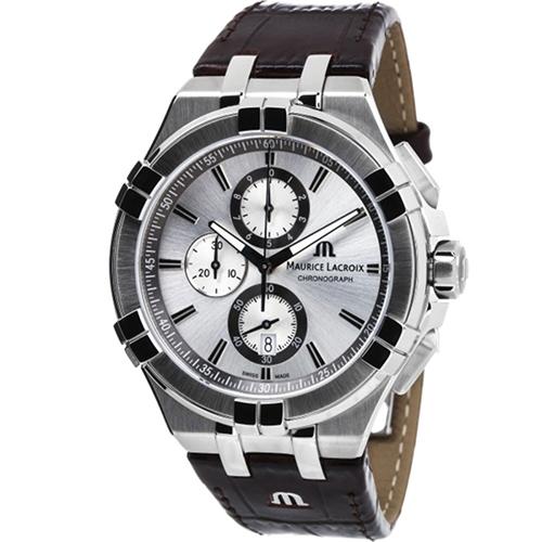 Часы Maurice Lacroix Aikon Chronograph AI1018-SS001-130-1, фото