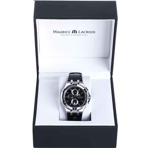 Часы Maurice Lacroix Aikon Chronograph AI1018-SS001-330-1, фото