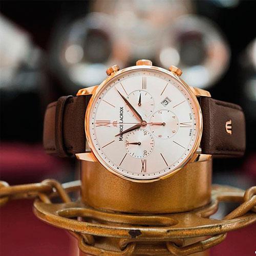 Часы Maurice Lacroix Eliros Chronograph EL1098-PVP01-111-1, фото