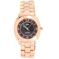 Часы La Mer Collections Rose Gold Mini Odyssey Black Dial Link LMODYSSEYLINK003, фото