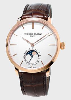 Часы Frederique Constant Manufacture Slimline Moonphase FC-705V4S4, фото