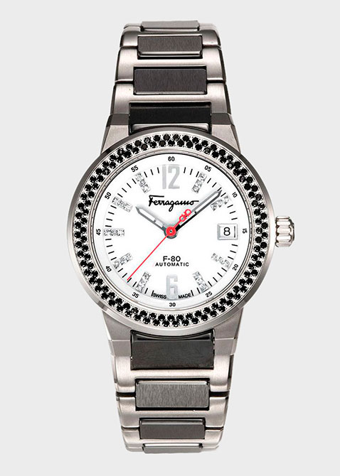 Часы Salvatore Ferragamo F-80 Fr54mba9001 s789, фото