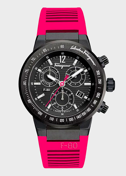 Часы Salvatore Ferragamo F-80 Fr55lcq6809 sr22, фото