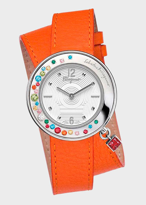 Часы Salvatore Ferragamo Gancino Sparkling F64sbq90001s165, фото