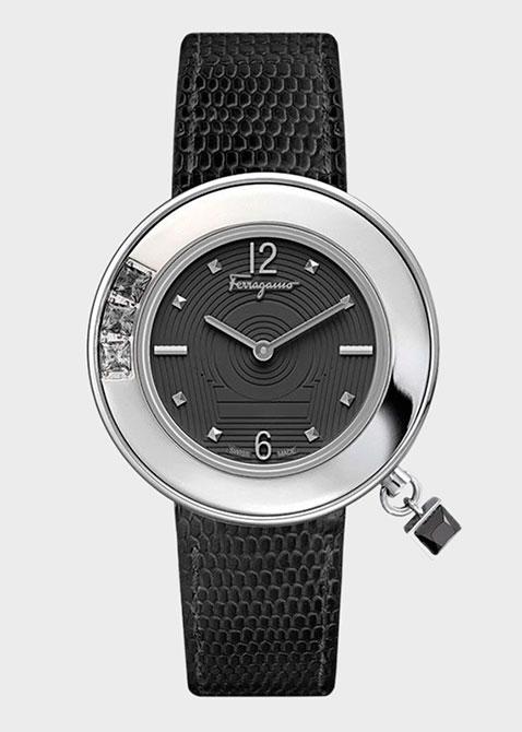 Часы Salvatore Ferragamo Gancino Sparkling F64sbq9709 s009, фото