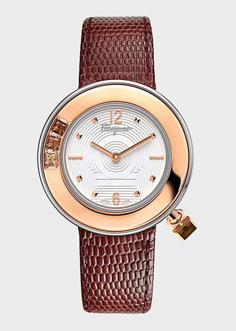 Часы Salvatore Ferragamo Gancino Sparkling Fr64sbq9801 s012, фото