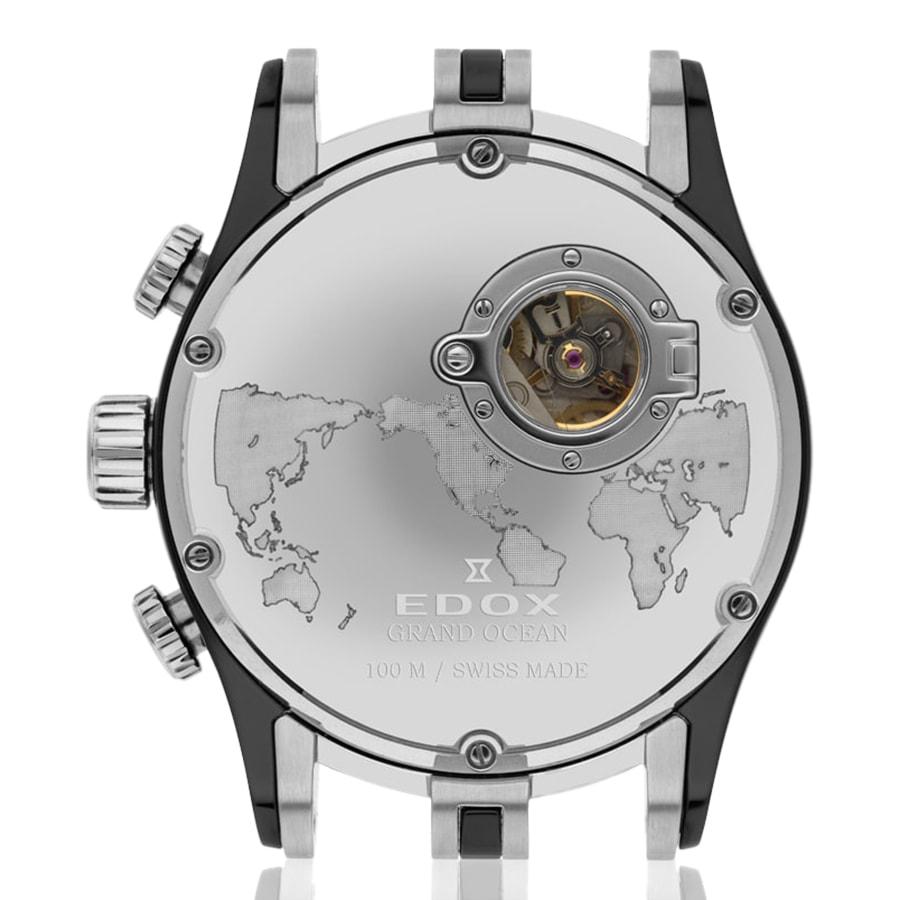 Часы Edox Grand Ocean Chronograph 01121 357RN GIR