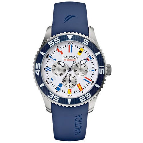 Часы Nautica NST-07 Multi Flags Na12627g, фото