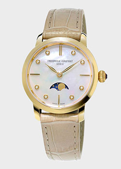 Часы Frederique Constant Slimline Moonphase FC-206MPWD1S5, фото