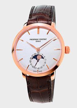 Часы Frederique Constant Slimline Moonphase FC-703V3S4, фото