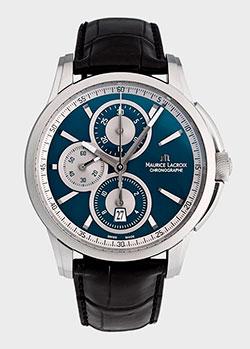 Часы Maurice Lacroix Pontos Chronographe Retro PT6188-SS001-430, фото