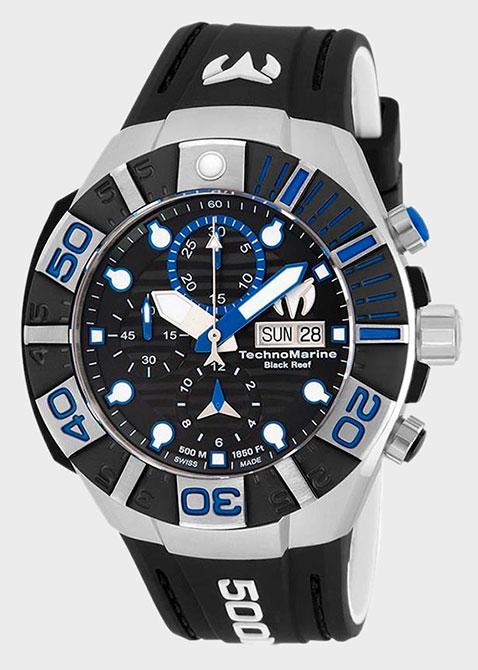Часы TechnoMarine Reef Collection Black TM-515021, фото