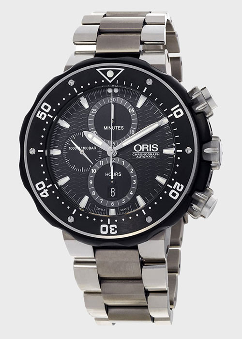 Часы Oris ProDiver 774.7683.7154 Set, фото