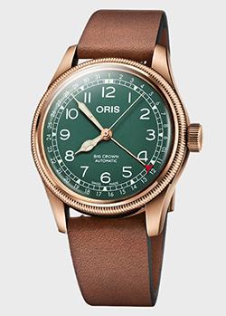 Часы Oris Big Crown Pointer Date 80th Anniversary Edition 01 754 7741 3167-07 5 20 58BR, фото