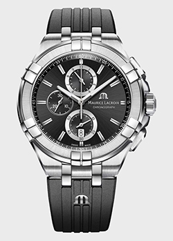 Часы Maurice Lacroix Aikon Chronograph AI1018-SS001-330-2, фото