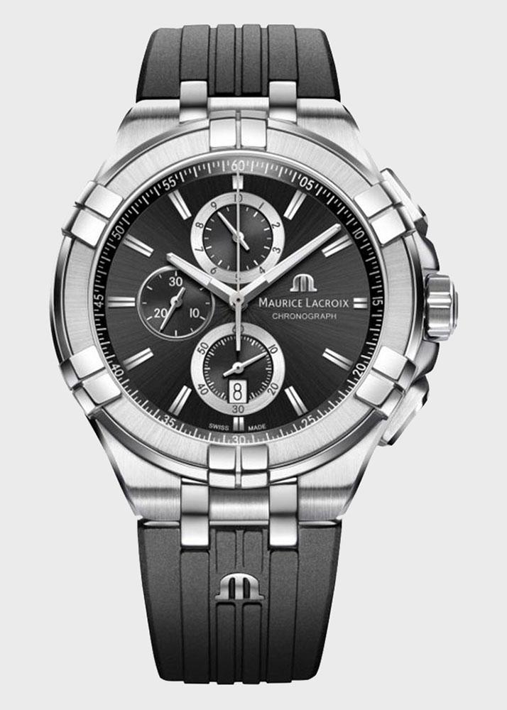 Часы Maurice Lacroix Aikon Chronograph AI1018-SS001-330-2