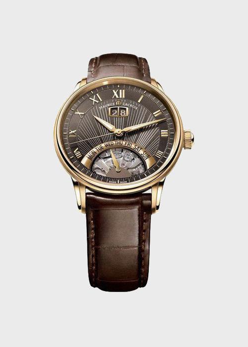 Часы Maurice Lacroix Masterpiece Jours Retrogrades MP6358-PG101-71E, фото