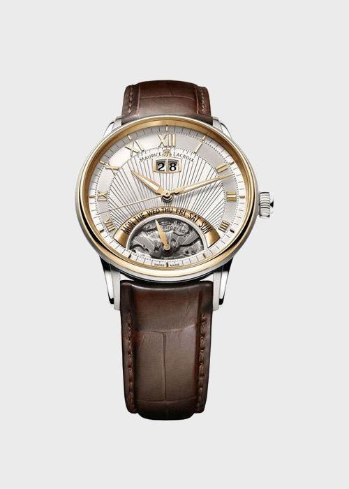 Часы Maurice Lacroix Masterpiece Jours Retrogrades MP6358-PS101-11E, фото