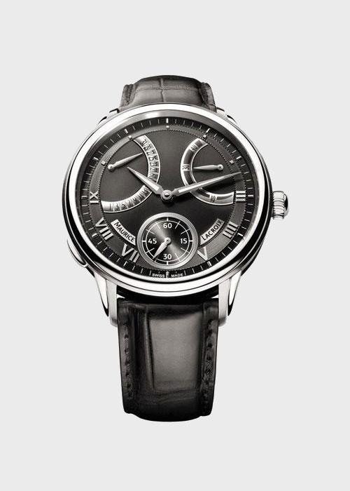Часы Maurice Lacroix Masterpiece Calendrier Retrograde MP7268-SS001-310, фото