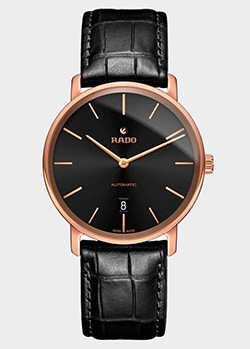 Часы Rado DiaMaster Ceramos Thinline Automatic 01.766.6068.3.416/R14068166, фото