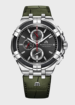 Часы Maurice Lacroix Aikon Chronograph AI1018-PVB21-330-1, фото