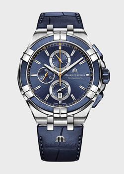 Часы Maurice Lacroix Aikon Chronograph AI1018-SS001-432-4, фото