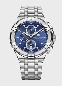 Часы Maurice Lacroix Aikon Chronograph AI1018-SS002-430-1, фото