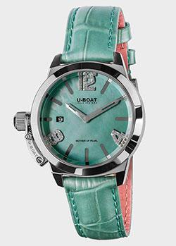 Часы U-Boat Classico Turquoise Mother of Pearl 8481, фото
