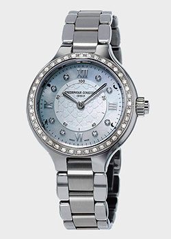 Часы Frederique Constant Smartwatch Horological Smartwatch Delight Notify FC-281WHD3ERD6B, фото