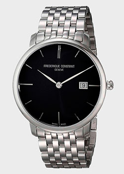 Часы Frederique Constant Slimline Automatic FC-306G4S6B2, фото