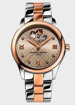Часы Frederique Constant Ladies Automatic Double Heart Beat FC-310LGDHB3B2B, фото