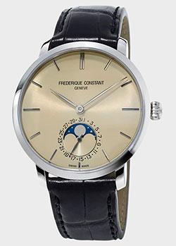 Часы Frederique Constant Slimline Moonphase Manufacture FC-705BG4S6, фото
